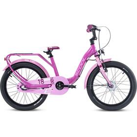 s'cool niXe alloy street 18 3-S Kinderen, pink/lightpink